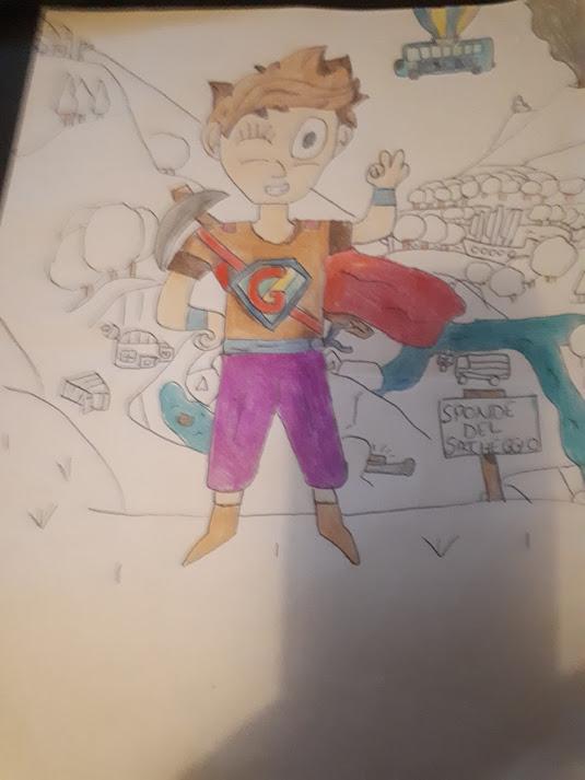 il mio supereroe